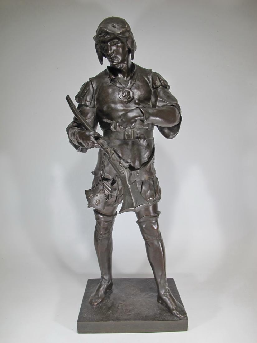Emile Louis PICAULT (1833-1915) 19th C. bronze