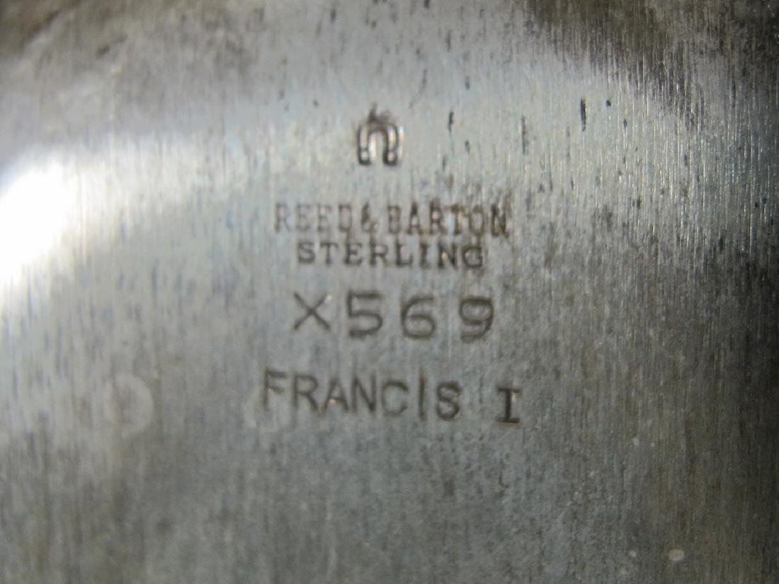 Reed & Barton Francis I sterling bread tray - 7