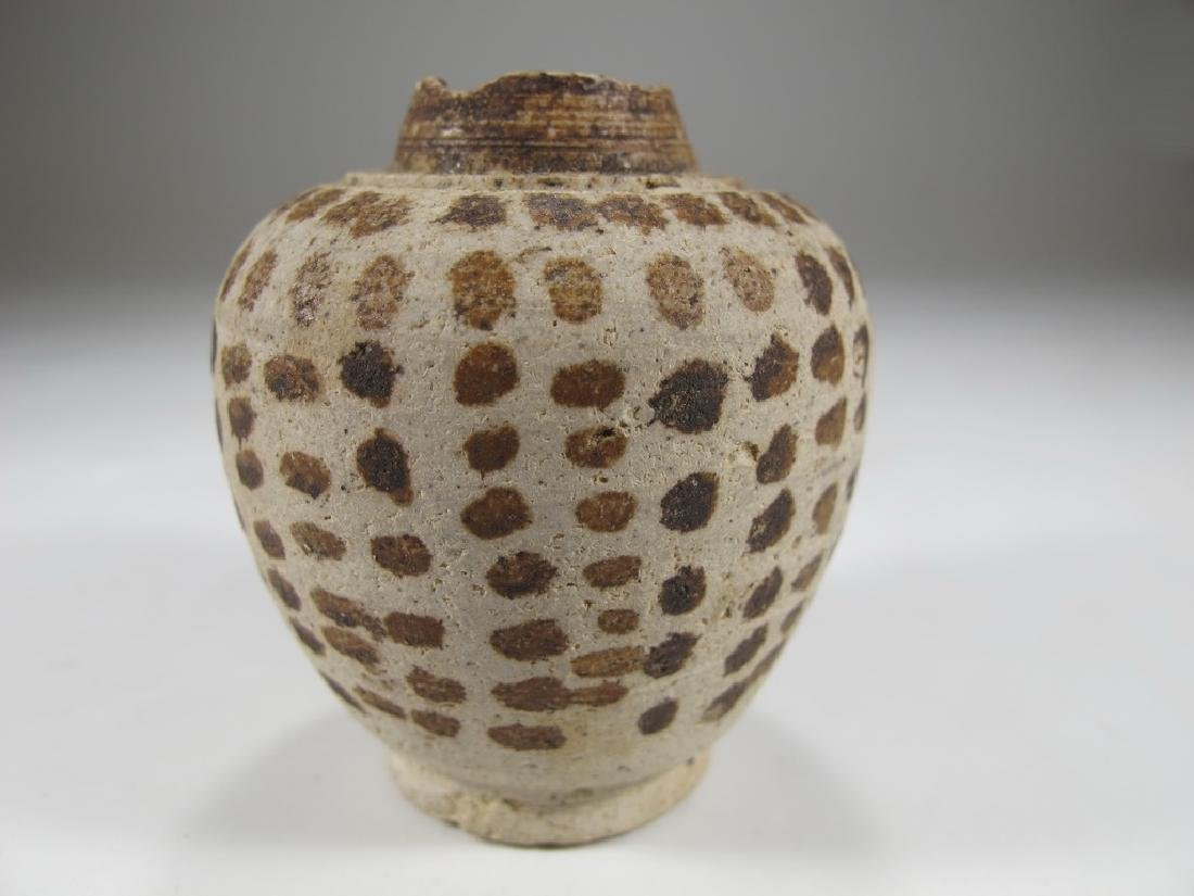 Rare Ancient Chinese miniature ceramic vase