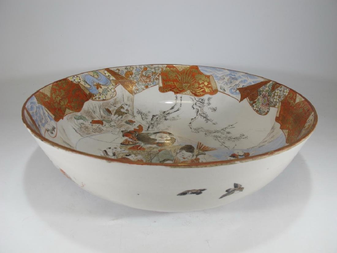 Antique Japanese porcelain bowl