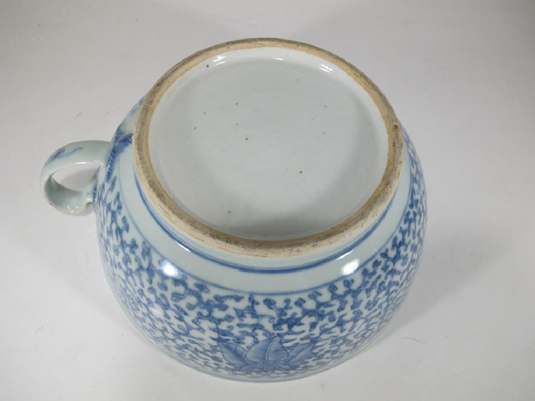 Antique Chinese porcelain lided chamber pot - 7