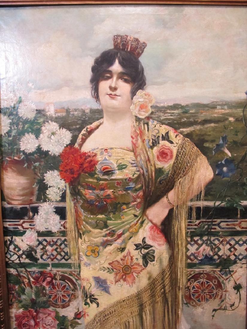 Manuel OZUNA (XIX-XX) Spanish oil on camvas painting - 2