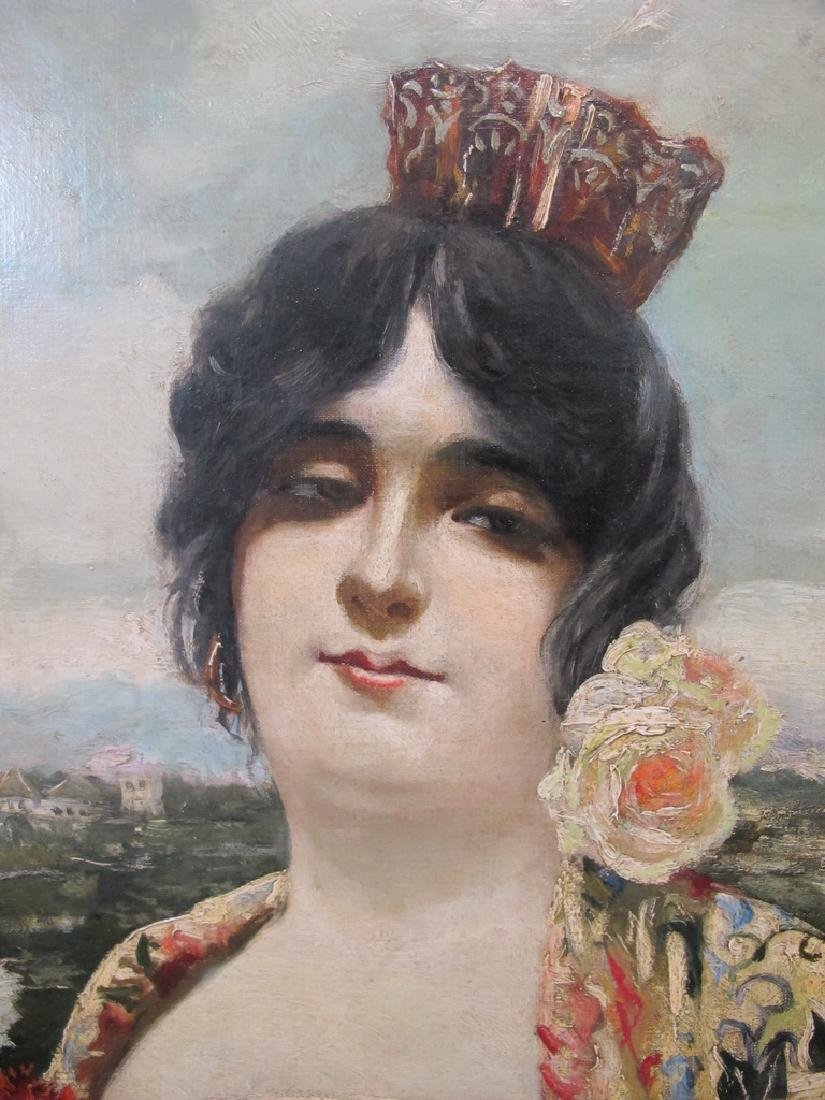 Manuel OZUNA (XIX-XX) Spanish oil on camvas painting - 3