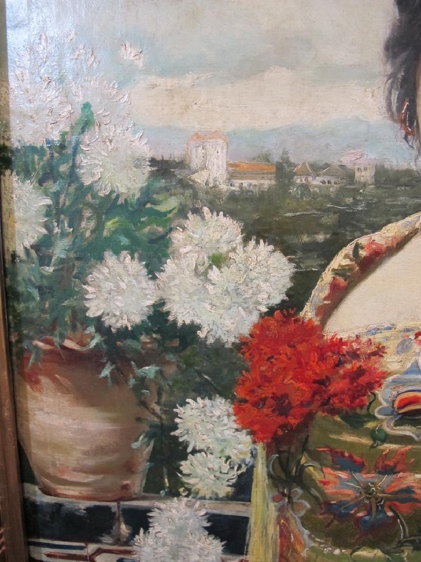 Manuel OZUNA (XIX-XX) Spanish oil on camvas painting - 4