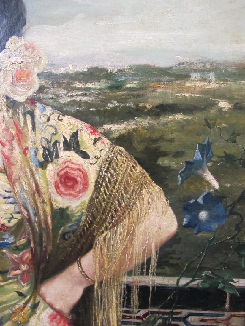 Manuel OZUNA (XIX-XX) Spanish oil on camvas painting - 5
