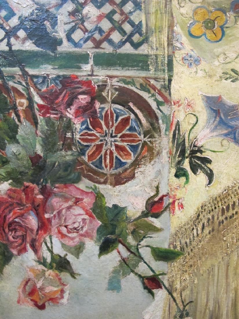 Manuel OZUNA (XIX-XX) Spanish oil on camvas painting - 7