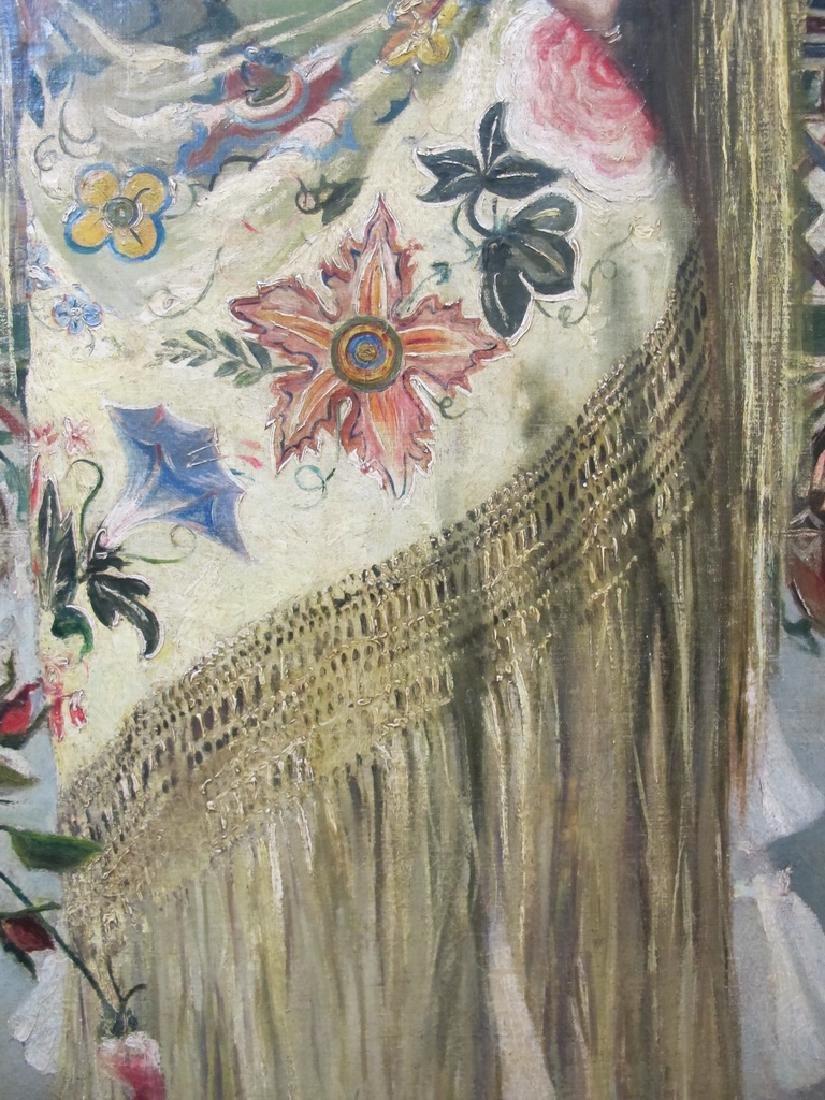 Manuel OZUNA (XIX-XX) Spanish oil on camvas painting - 8