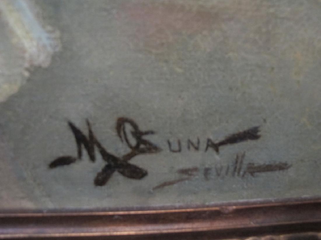 Manuel OZUNA (XIX-XX) Spanish oil on camvas painting - 9