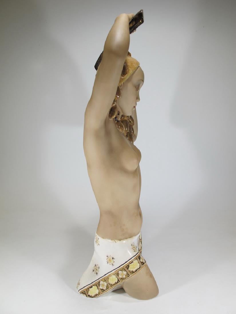 Cia Manna, Torino, Italy ceramic nude statue - 5