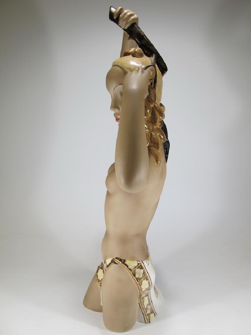 Cia Manna, Torino, Italy ceramic nude statue - 7