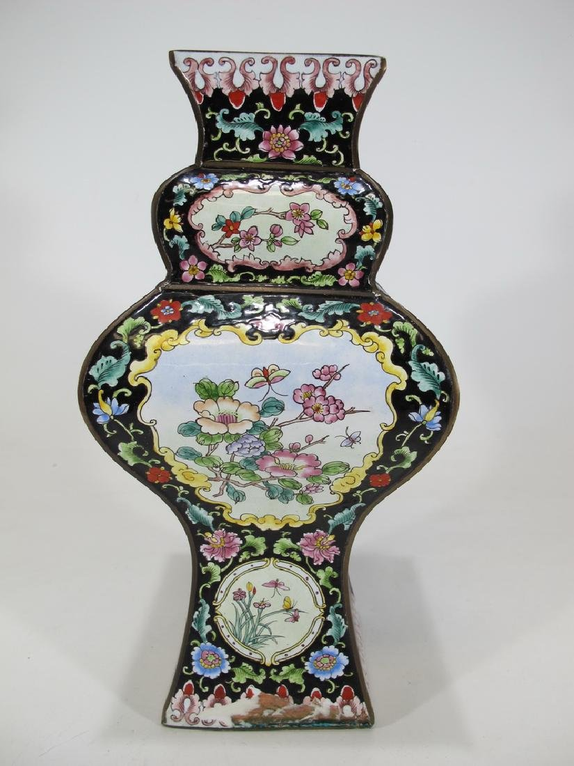 Antique Chinese cloisonne vase