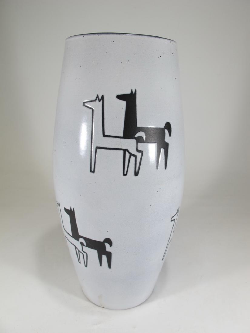 SWISS Pottery Vase By Gebruder Muller, Luzerner