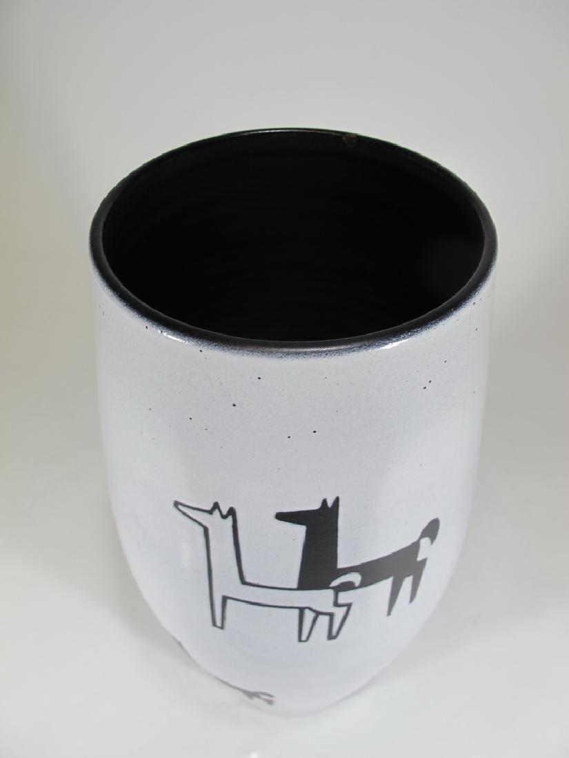 SWISS Pottery Vase By Gebruder Muller, Luzerner - 2