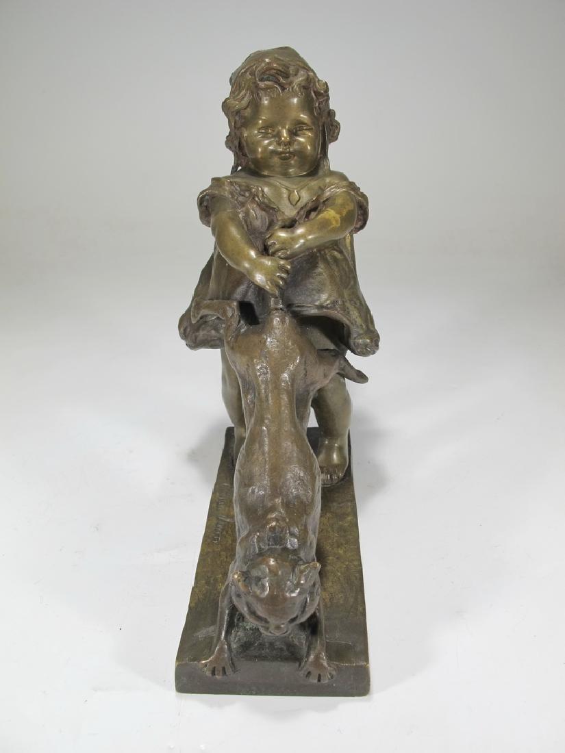 Juan CLARA AYATS (1875-1958) bronze sculpture - 2