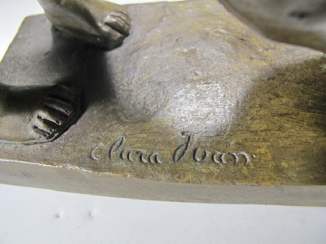Juan CLARA AYATS (1875-1958) bronze sculpture - 7