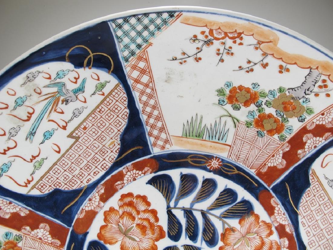 Antique Japanese Imari porcelain plate - 2
