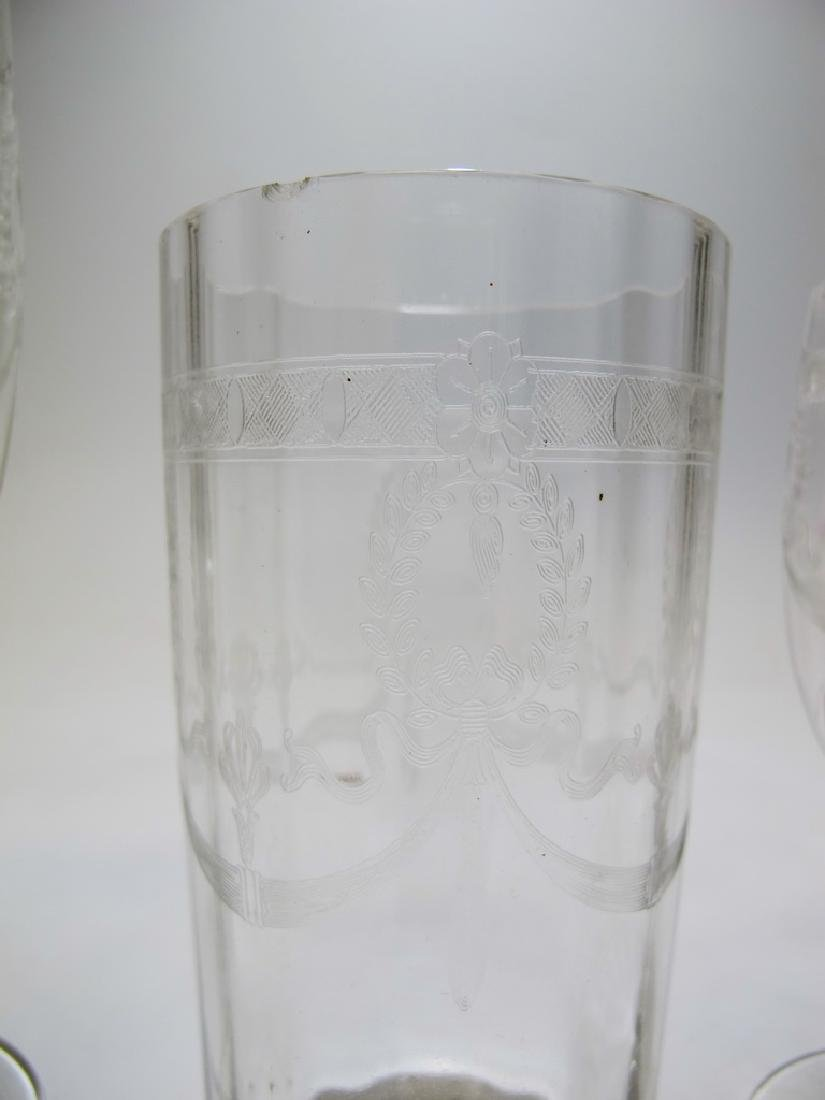 Vintage French set of 46 glasses - 7