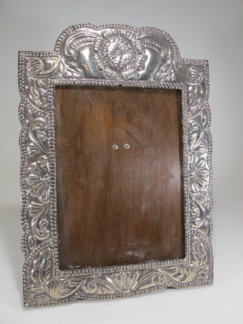 Vintage sterling picture frame from Peru
