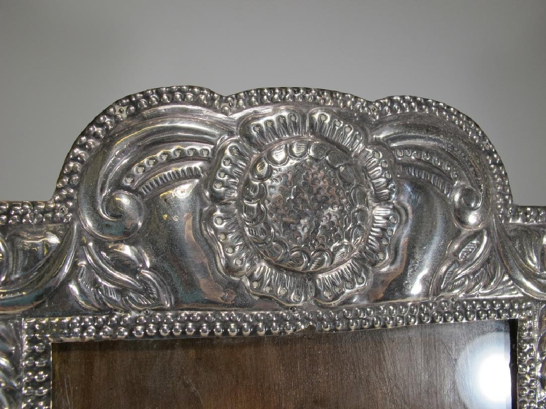 Vintage sterling picture frame from Peru - 2