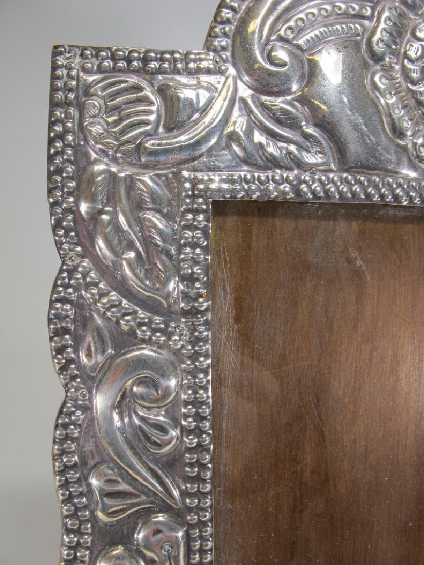 Vintage sterling picture frame from Peru - 3