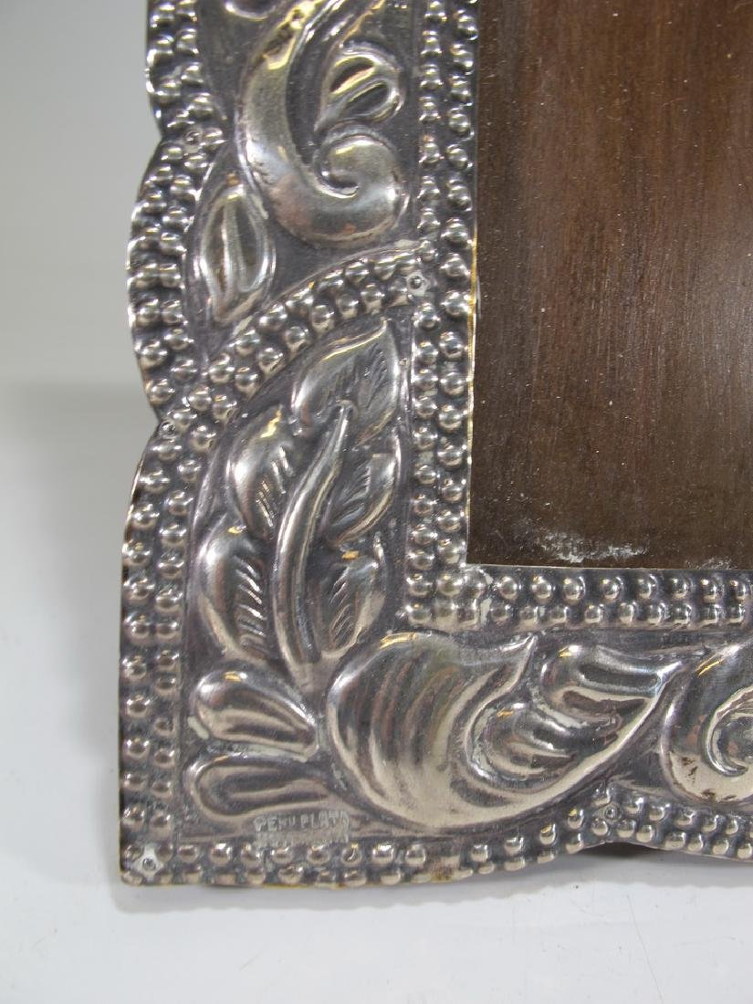 Vintage sterling picture frame from Peru - 4