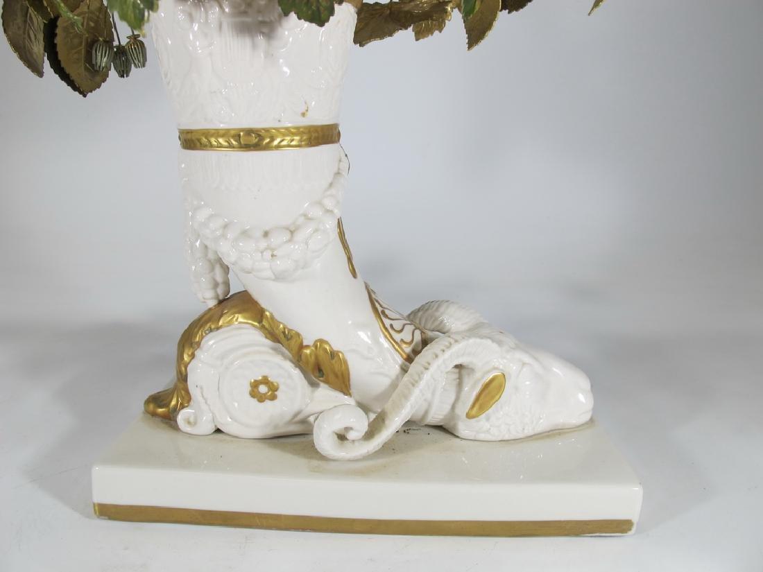 Mottahedeh design Italian porcelain vase - 2