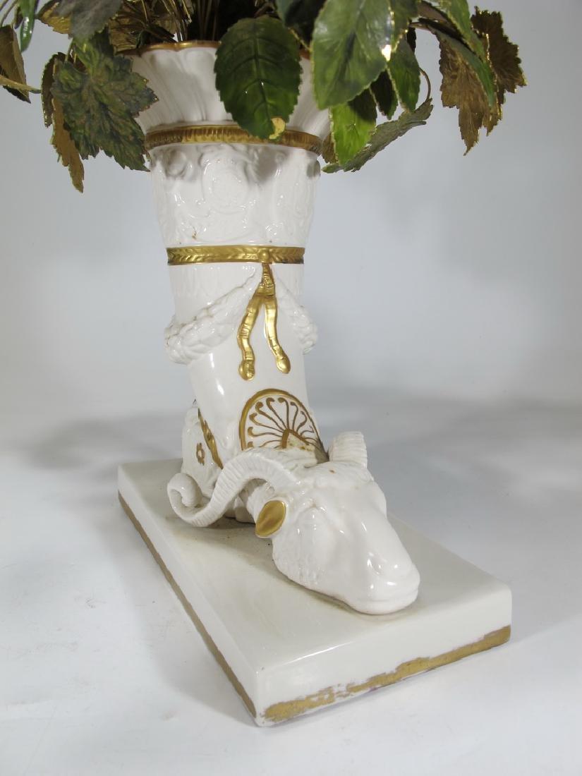 Mottahedeh design Italian porcelain vase - 4