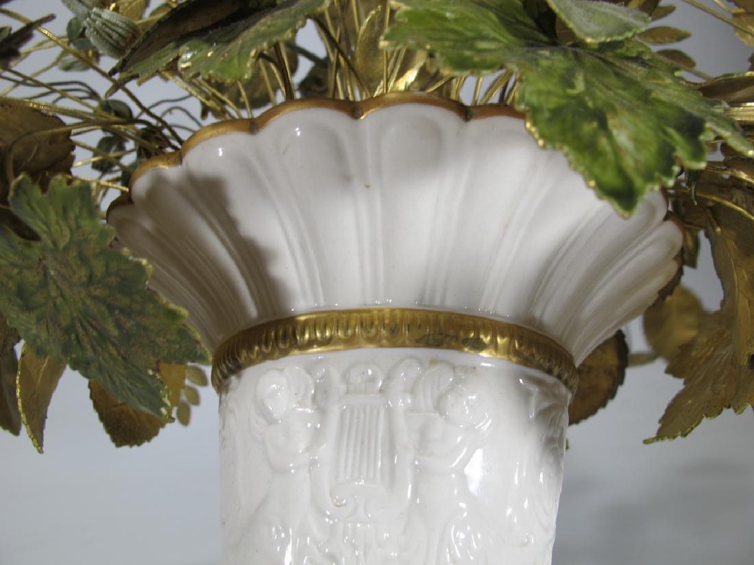 Mottahedeh design Italian porcelain vase - 7