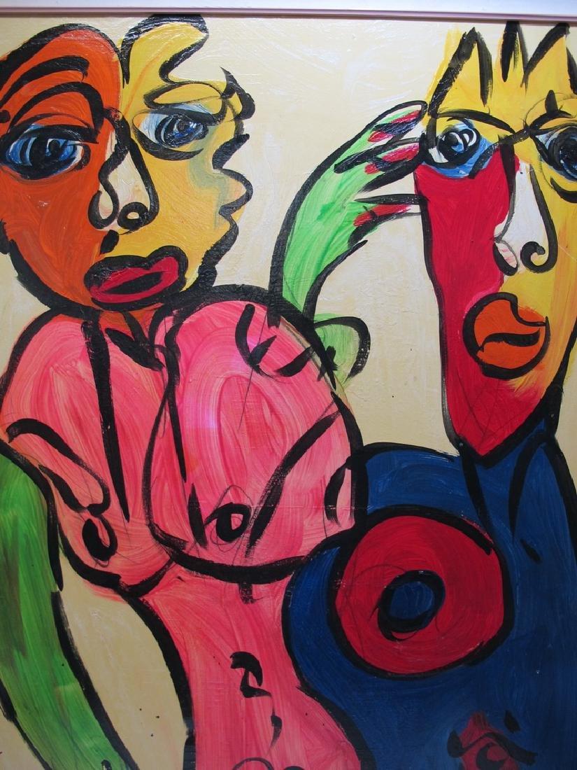 Peter Robert KEIL (1942) German artist painting - 2
