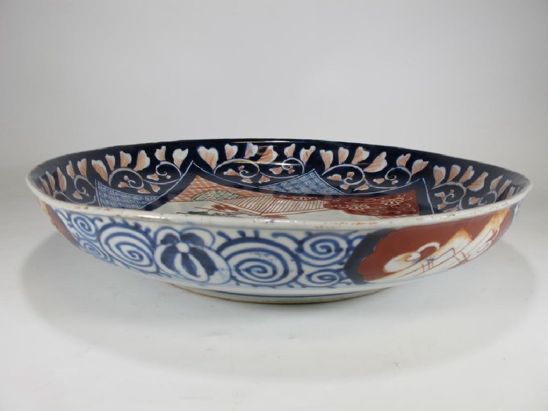 Antique Japanese Imari porcelain plate - 7