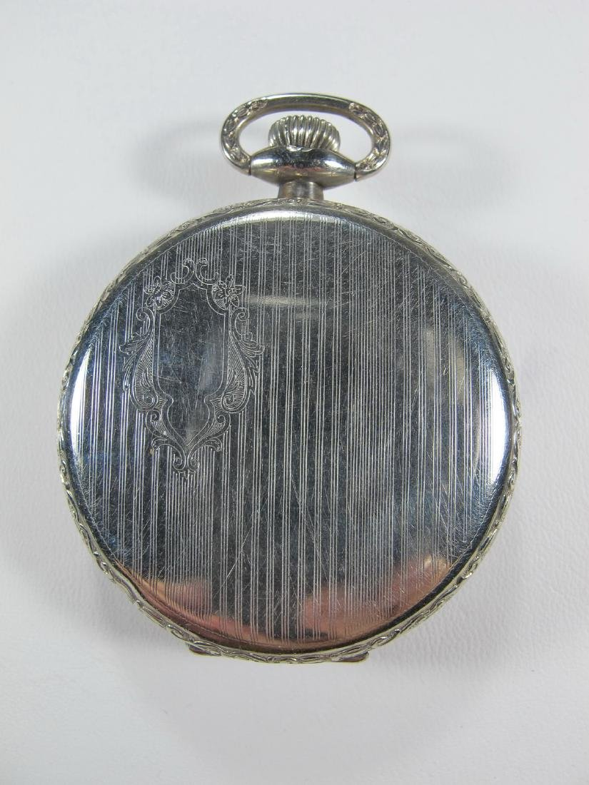 Vintage Elgin Masonic pocket watch - 3