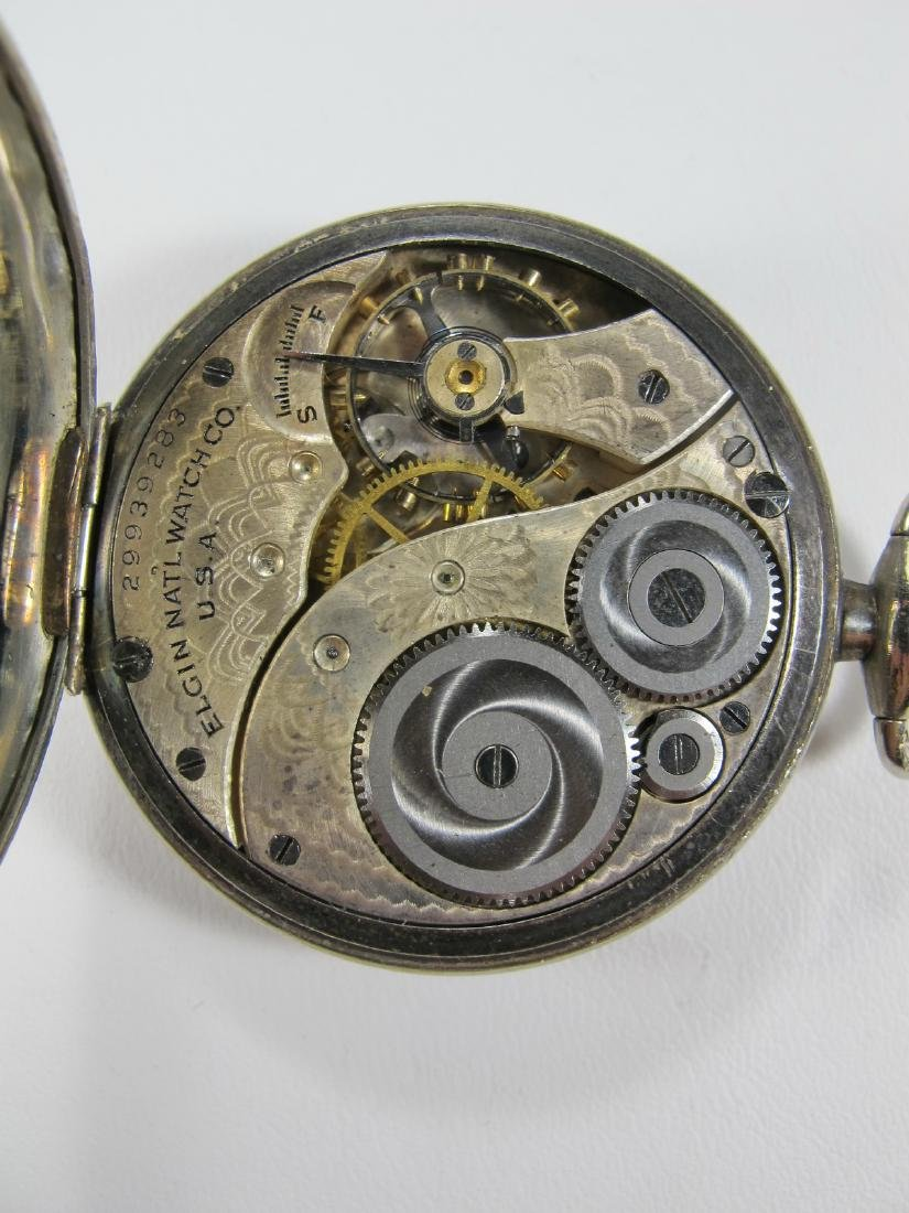 Vintage Elgin Masonic pocket watch - 4