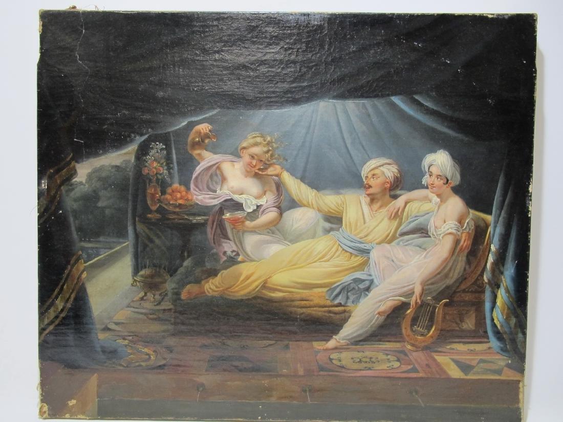 Charles Nicolas R. LAFOND (1774-1835) oil on canvas
