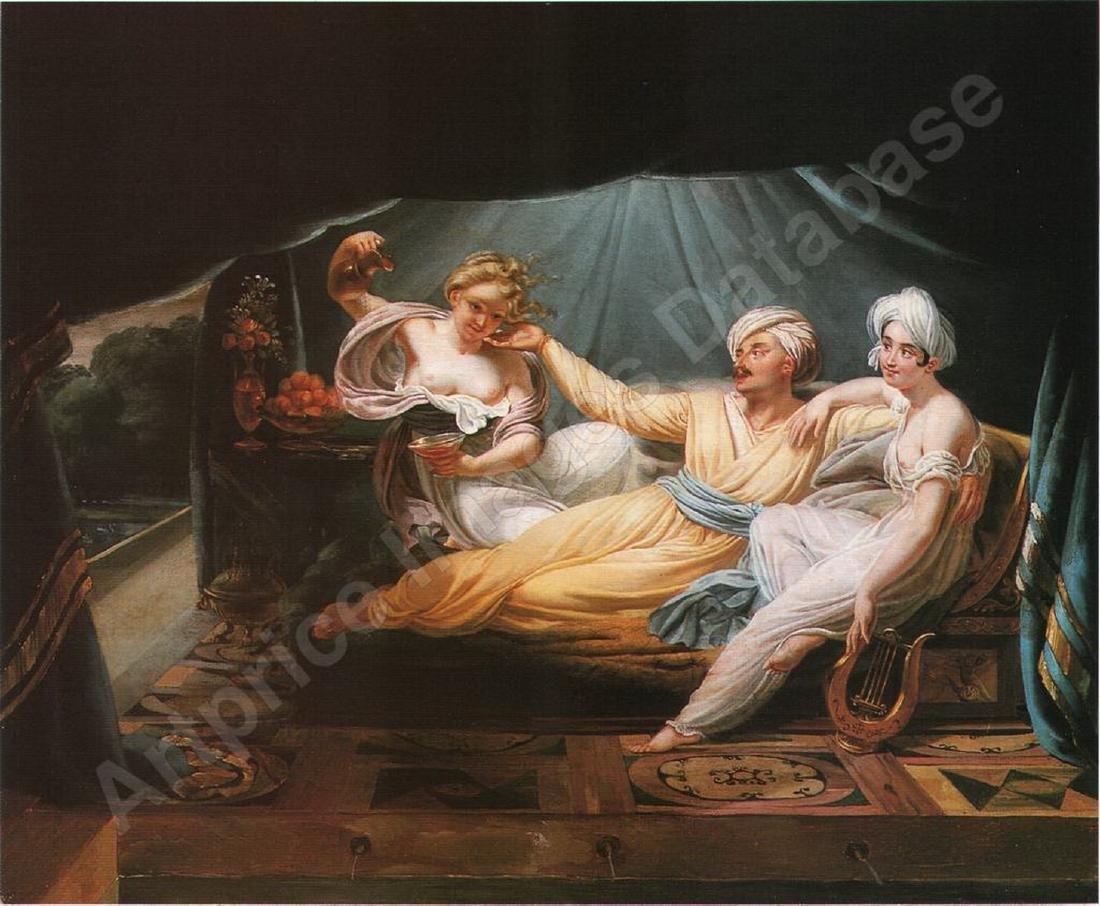 Charles Nicolas R. LAFOND (1774-1835) oil on canvas - 2