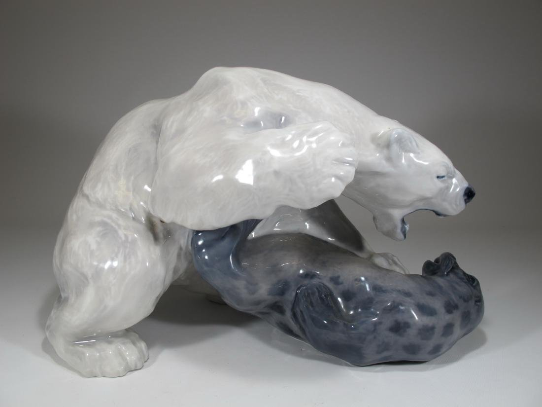 Royal Copenhagen Polar bear by KNUD KYHN