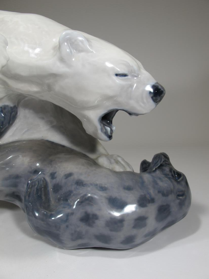 Royal Copenhagen Polar bear by KNUD KYHN - 2