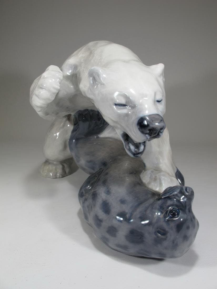 Royal Copenhagen Polar bear by KNUD KYHN - 3