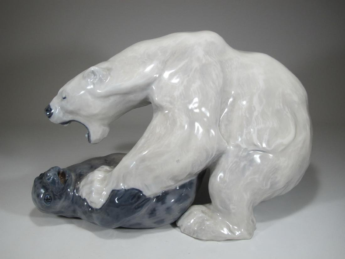 Royal Copenhagen Polar bear by KNUD KYHN - 4