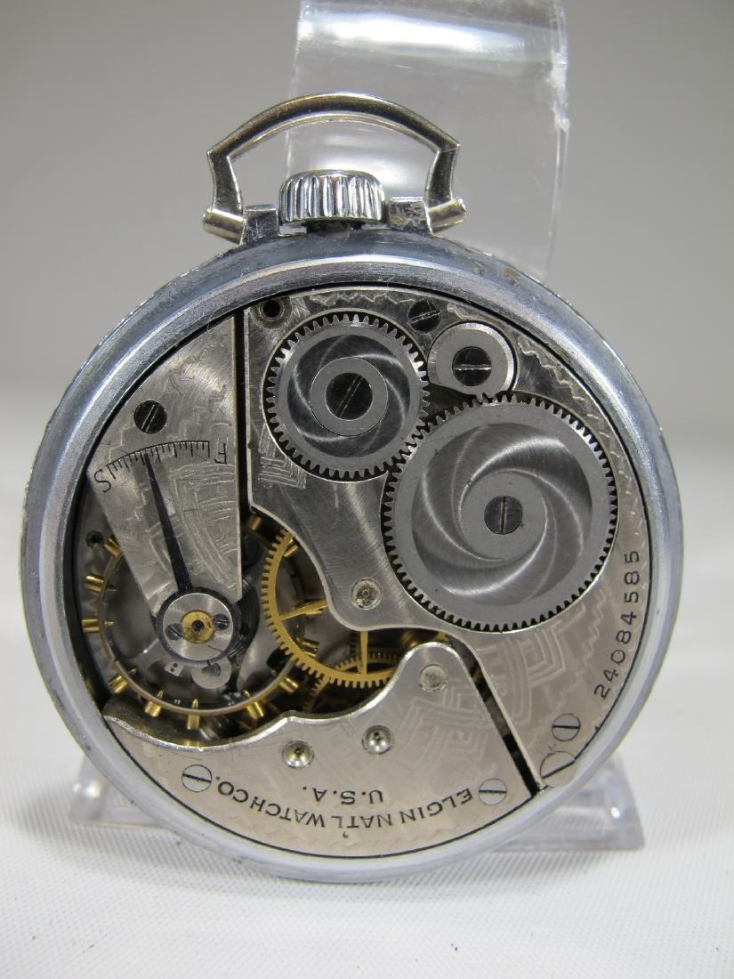 Elgin Natl. Watch Co. U.S.A. Masonic pocket watch - 3