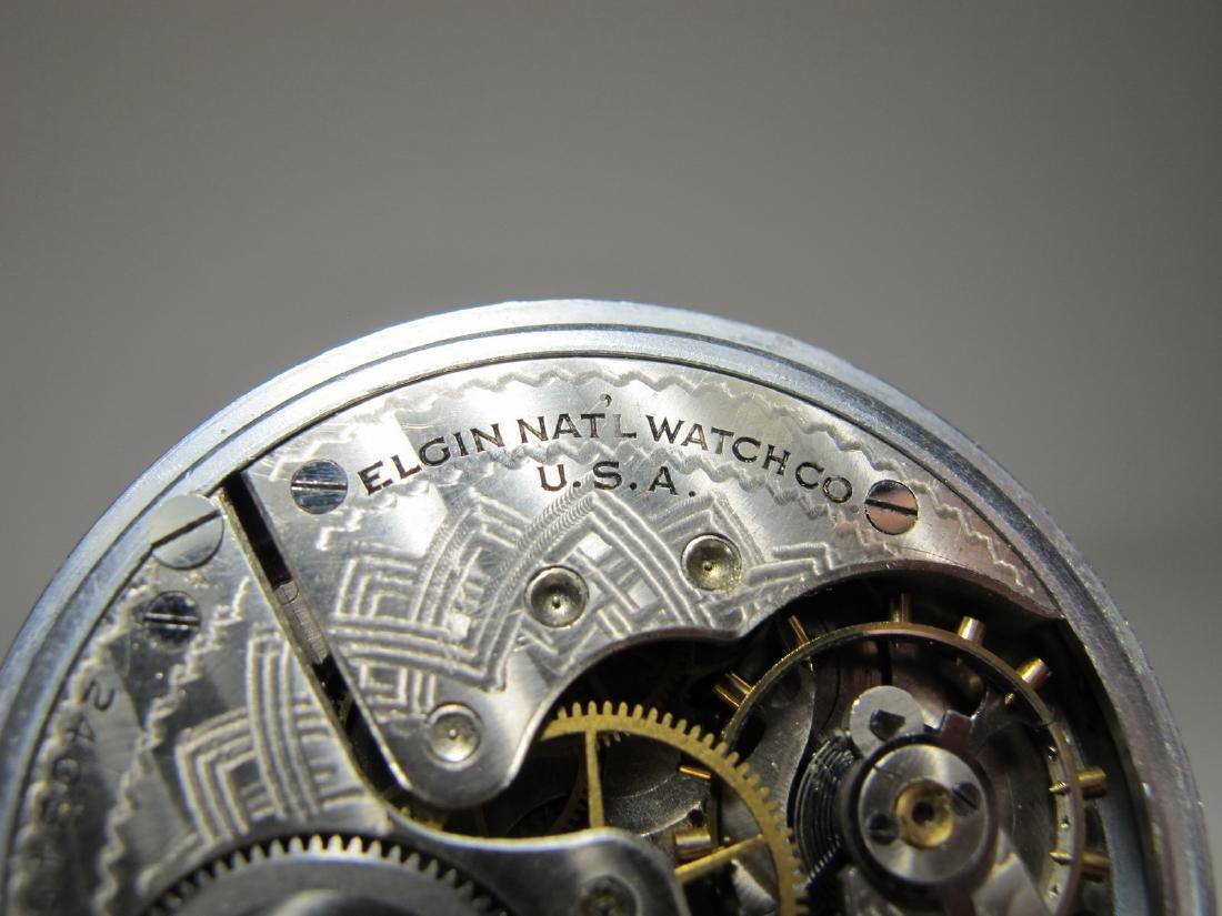 Elgin Natl. Watch Co. U.S.A. Masonic pocket watch - 4