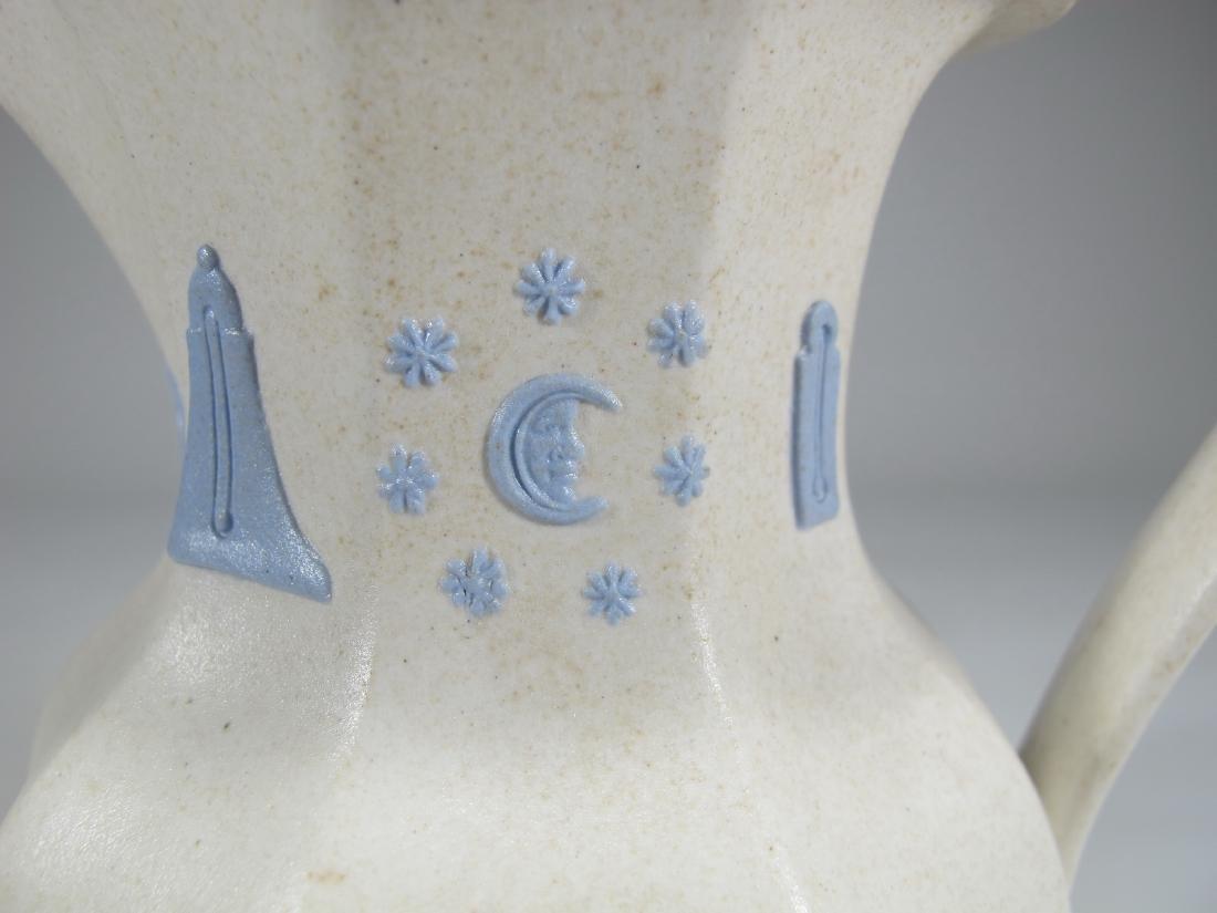 Antique English Masonic porcelain jug - 3