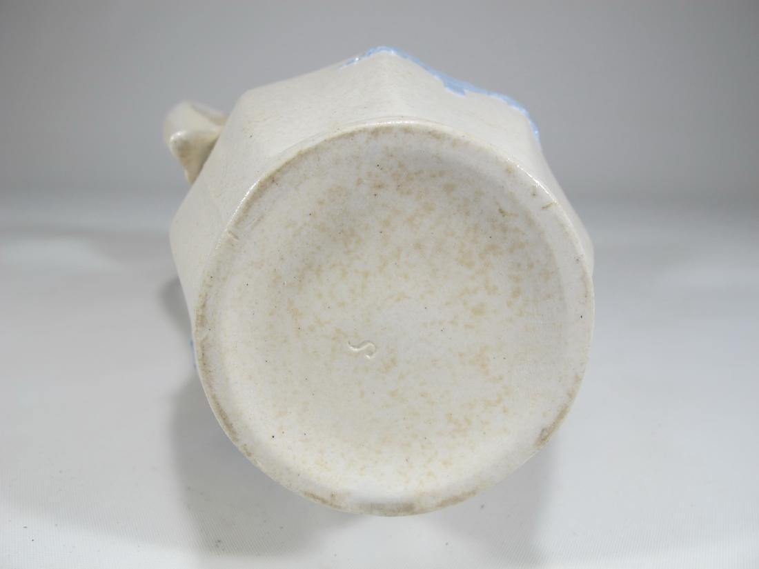 Antique English Masonic porcelain jug - 9