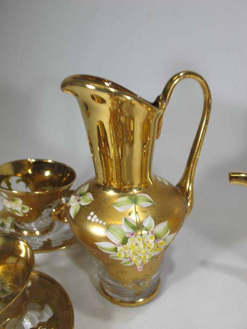 Vintage Venetian glass set - 3