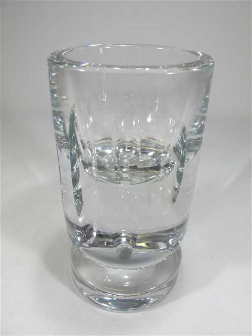 Vintage Baccarat Crystal Vase Signed