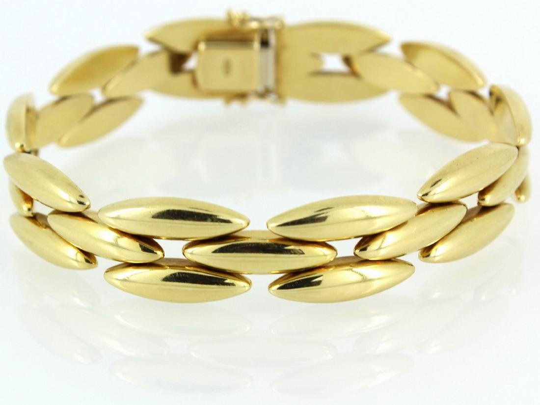 18k yellow gold Gentiane collection cartier