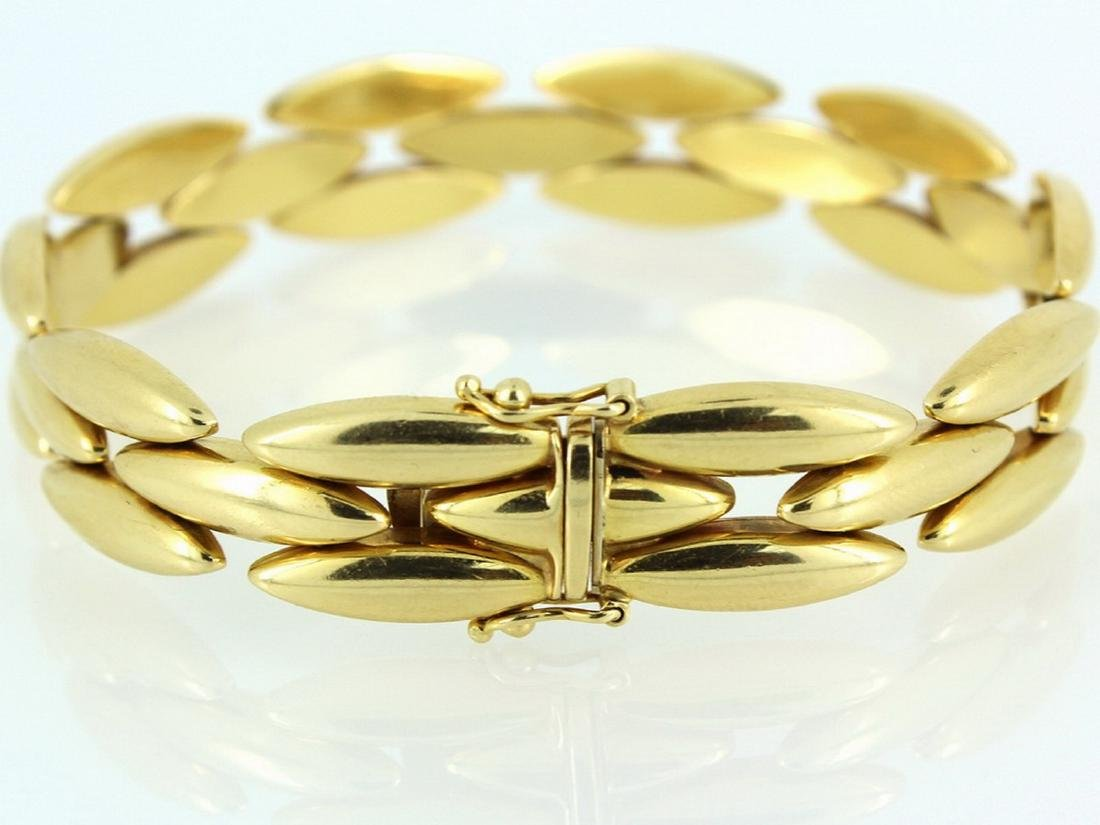 18k yellow gold Gentiane collection cartier - 3