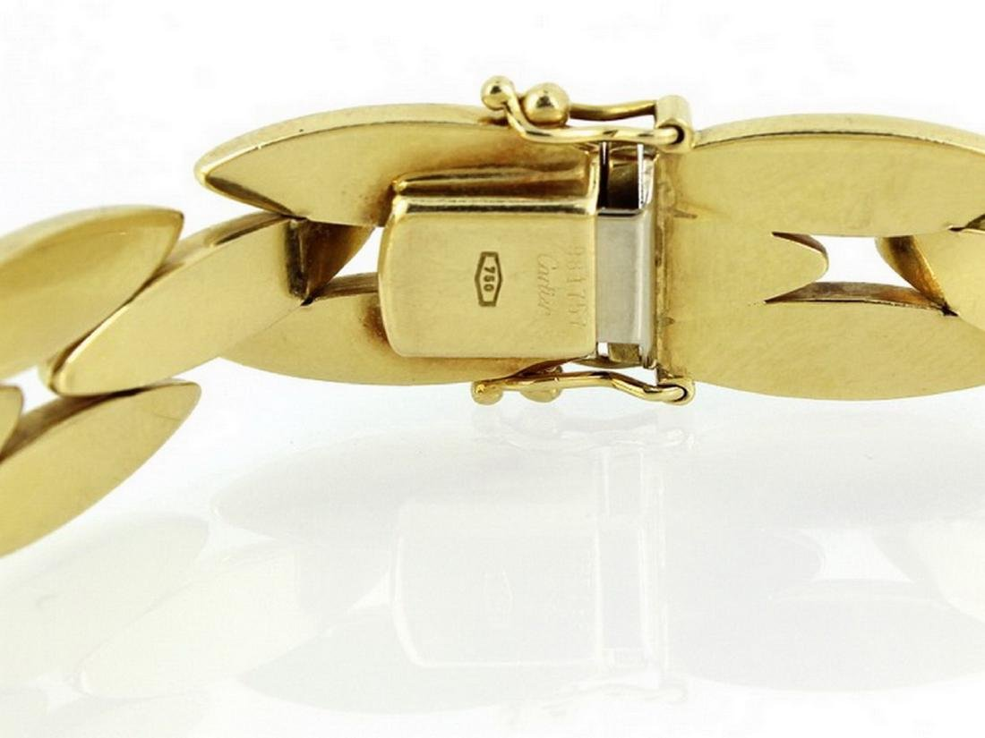 18k yellow gold Gentiane collection cartier - 4
