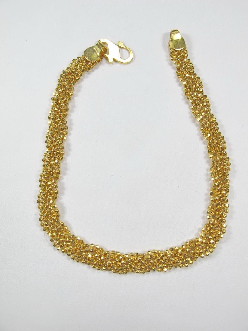 Antique 20k (875) yellow gold bracelet