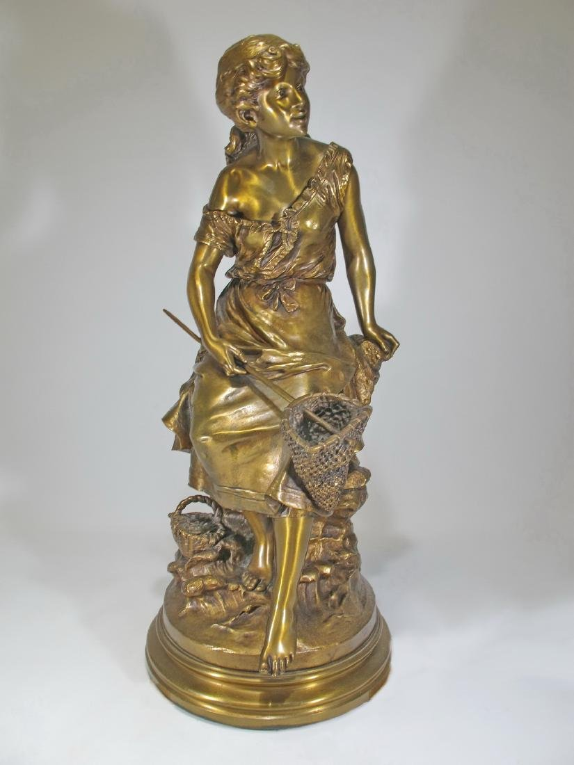 Auguste MOREAU (1834-1917) bronze sculpture