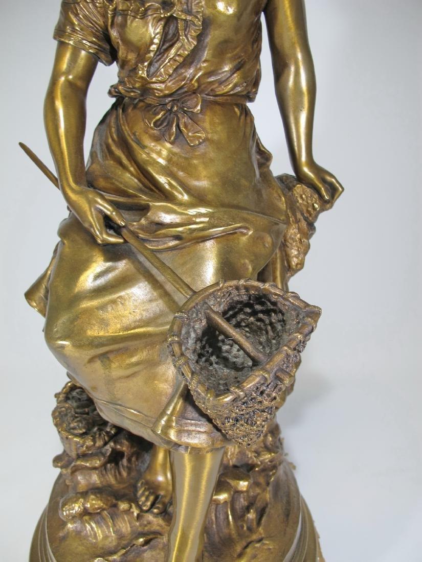 Auguste MOREAU (1834-1917) bronze sculpture - 3